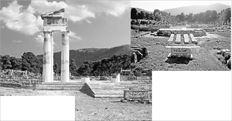 Με τον συντονισμό της Επιτροπής  Συντήρησης των Μνημείων Επιδαύρου, υπό  τον καθηγητή Βασίλη Λαμπρινουδάκη,  αρχαιολόγοι, αρχιτέκτονες, μηχανικοί,  συντηρητές και τεχνίτες, 135 χρόνια μετά  την πρώτη ανασκαφή του Πρόπυλου (επάνω  όπως ήταν πριν να αποκτήσει και την τρίτη  του διάσταση), συμμετέχουν από το 1984 σε  μια αναστηλωτική «κοσμογονία» που μόλις  χθες αποκαλύφθηκε (αριστερά) όταν  έφυγαν πλέον οι σκαλωσιές