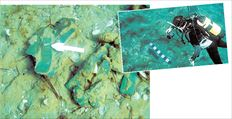 Ένας μεγάλος καταποντισμένος προϊστορικός οικισμός στο Παυλοπέτρι  της Λακωνίας, απέναντι από την Ελαφόνησο, έδωσε δειγματοληπτικά 230  όστρακα κυρίως της πρωτοελλαδικής περιόδου (2500 π.Χ.)