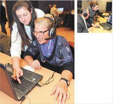 «Θέλω να μάθω περισσότερα για τους υπολογιστές», λέει η 73χρονη κ. Αμαλία Μαστρογιάννη (φωτό πάνω). «Η λαχτάρα μου να μάθω για τους υπολογιστές είναι μεγάλη. Θέλω να βρίσκω πληροφορίες για ιστορικά θέματα, ήθη και έθιμα», λέει ο 73χρονος κ. Φώτης Μπόρας (δεξιά)