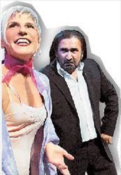 Η Χρύσα Ρώπα  συμπρωταγωνιστεί  με τον Λάκη Λαζόπουλο στον «Βιοπαλαιστή»