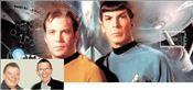 Μίστερ Σποκ  (δεξιά) και  Κάπτεν Κερκ  ή, αλλιώς,  Λίοναρντ  Νιμόι  και  Γουίλιαμ  Σάτνερ με  άσπρα μαλλιά  και φίλοι για  πάντα, έστω  και  αν ο  Σάτνερ  ζήλεψε λίγο  τον Νιμόι για  τη συμμετοχή  του στο   τελευταίο  «Star Τrek»