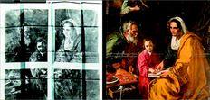 «Η εκπαίδευση  της Παρθένου»,  πίνακας που είχε  µείνει ξεχασµένος  στα υπόγεια  του Πανεπιστηµίου του Γέιλ, δεν  αποκλείεται να είναι  πρώιµο έργο  του Ντιέγκο Βελάσκεθ, του ισπανού δηµιουργού των διάσηµων  «Λας Μενίνιας». Αριστερά, η  ακτινογραφία του  έργου