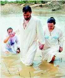 ¬ Οι βαφτίσεις στον Ιορδάνη αναστέλλονται λόγω... µόλυνσης