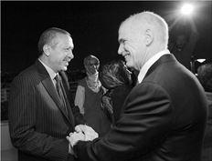 ¬ Παπανδρέουκαι Ερντογάν συνέφαγαν χθες το βράδυ στην Αθήνα