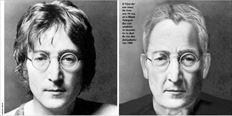 Ο Τζον Λένον όπως  θα ήταν  στα 70 του,  αν ο Μαρκ  Τσάπµαν  δεν είχε  τραβήξει  τη σκανδάλη το βράδυ της 8ης  Δεκεµβρίου  του 1980