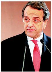 Ενα νέο «συναινετικό προφίλ» επιχείρησε να προβάλει ο πρόεδρος της Ν.Δ.  και κατά την οµιλία του, χθες το βράδυ, στις παραγωγικές τάξεις και  τα επιχειρηµατικά επιµελητήρια της Θεσσαλονίκης (φωτογραφία). «Η Ν.Δ.  δεν διαφώνησε ποτέ µε την ανάγκη της δηµοσιονοµικής προσαρµογής, είπε.  Διαφώνησε - και διαφωνεί - στο πώς θα την επιτύχουµε...»