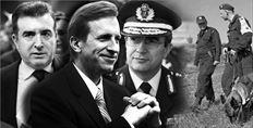 Συζητήσεις του τότε  αµερικανού πρεσβευτή  στην Αθήνα  Ντ. Σπέκχαρντ (κέντρο)  µε τον τότε υπουργό  Προστασίας του Πολίτη  Μ. Χρυσοχοΐδη (αριστερά) και τον αρχηγό  της ΕΛ.ΑΣ. Λ. Οικονόµου  (δεξιά) καταγράφονται  στα τηλεγραφήµατα  που διέρρευσαν µέσω  Wikileaks. Ενα από  τα θέµατα ήταν  η λαθροµετανάστευση