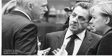Γ. Παπανδρέου, Ν. Σαρκοζί,  Α. Μέρκελ στη χθεσινή Σύνοδο  Κορυφής των Βρυξελλών
