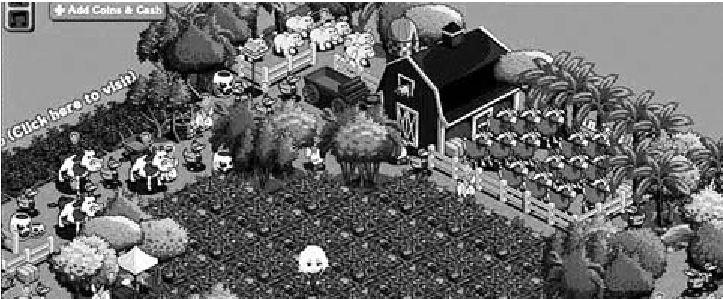 Εικόνα από το παιχνίδι Farmville. Ενας 22χρονος φοιτητής απείλησε ότι θα αυτοκτονήσει επειδή έχανε πόντους στο παιχνίδι...