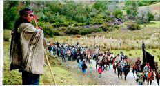 Μέλη της υπερήφανης  φυλής των Μαπούτσε, που  αντιστάθηκε σθεναρά στους  Ισπανούς κατά το 19ο αιώνα