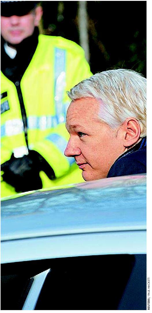 Εάν το βρετανικό δικαστήριο απορρίψει την έφεση του Τζούλιαν Ασάνζ, σε δέκα ηµέρες ο ιδρυτής του Wikileaks θα βρίσκεται στη Σουηδία