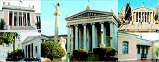Κάποια  από τα εθνικά κληροδοτήµατα:   1 Αρχαιολογικό Μουσείο,   2 Μετσόβιο Πολυτεχνείο,   3 Ακαδηµία Αθηνών,   4 Ζάππειο Μέγαρο,   5 Ριζάρειος Σχολή (στη φωτογραφία  ο Αγιος Γεώργιος)