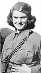 Η Μαρία Μπέικου, αντάρτισσα στη Λαµία