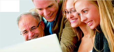 Οι νέοι είναι ιδιαίτερα  εξοικειωµένοι µε τις νέες  τεχνολογίες και το Internet  και µπορούν να αποτελέσουν  ιδανικούς δασκάλους για  τους γονείς τους...